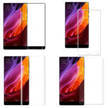 Premium Full Cover Tempered Glass For Xiaomi Mi MIX / MIMix Screen Protector 9H Toughened Protective Film Guard Black White Soft