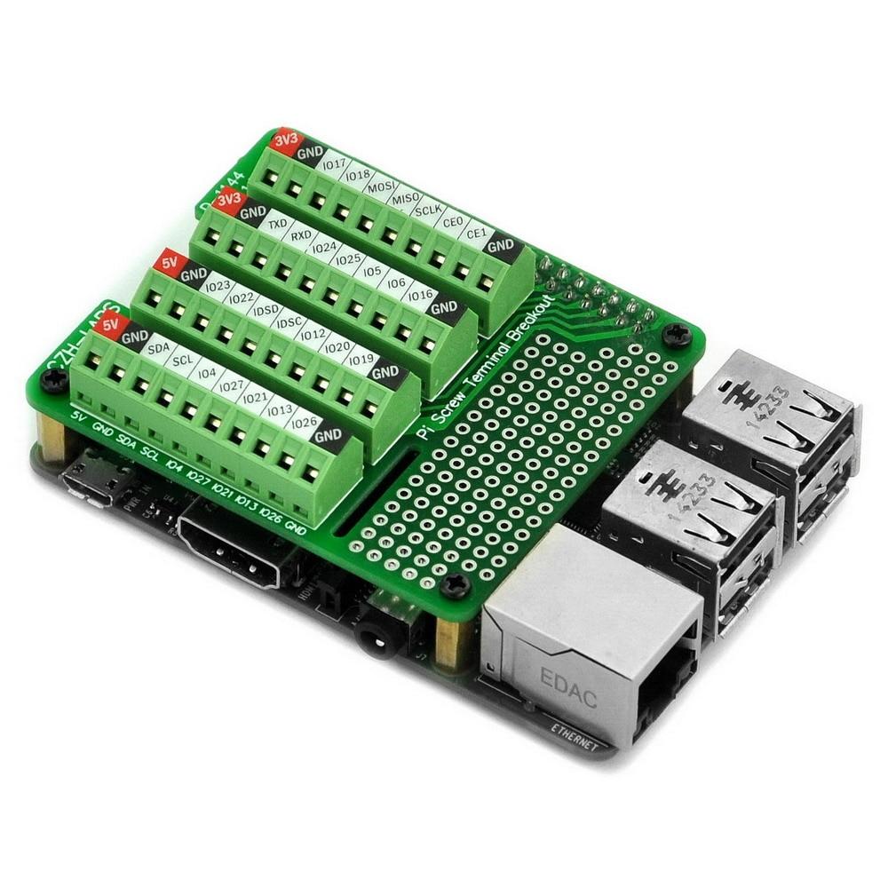 CZH-LABS Pi винтовой клеммный блок Breakout Module, для Raspberry Pi.