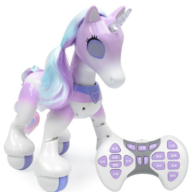 Toys for Children Remote Control Car Electric Smart Horse Children's New Robot Touch Induction Electronic Pet Educational Toys