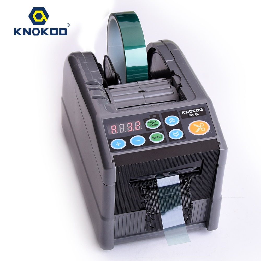 Dispensador automático de cinta KNOKOO ATD-60 cortador de cinta de embalaje ZCUT-9 máquina de cinta eléctrica