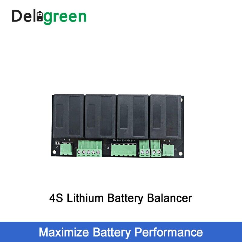 QNBBM 4S 12V литиевая батарея эквалайзер балансировка BMS для Li-Ion LiFePO4 LTO LiNCM LMO 18650 DIY упаковка защита