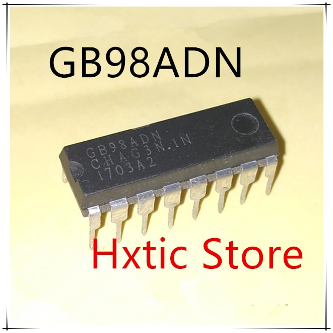 Nuevo 10 unids/lote GB98ADN DIP-16 IC