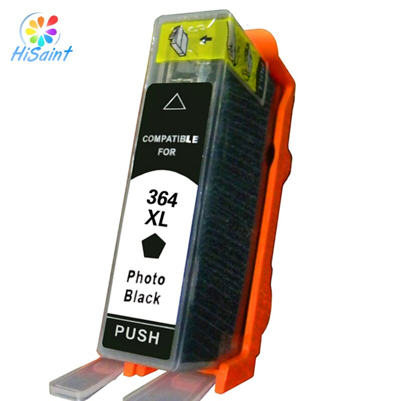 Hisaint completa para Hp364 364 cartucho de tinta Real Photosmart B8550 C5324 C5380 C6324 C6380 D5460 para Hp has a C510a corriendo