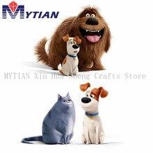 MYTIAN Diamond Embroidery Cartoon DIY Diamond Painting Dog and Cat Full Square Round New Arrival Diamond Mosaic Animals Paint