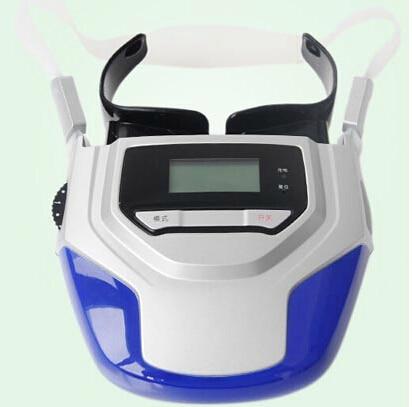 Generación II batería incorporada 3D entrenamiento Visual acupuntura láser azul ojo masajeador relajante