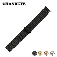 18mm 20mm 22mm 23mm 24mm en acier inoxydable Bracelet de montre pour Zenith Paul Picot Moser libération rapide sangle poignet boucle ceinture Bracelet