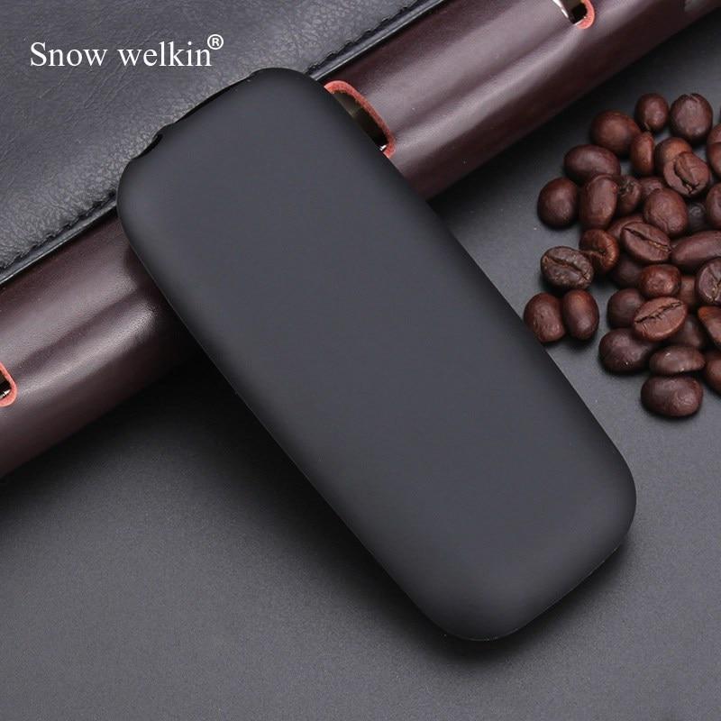 Snow welkin para Nokia105 2017 Gel TPU Delgado suave Skiding de silicona caso de la cubierta para Nokia 105 DE 2017 bolsa de goma Coque Fundas