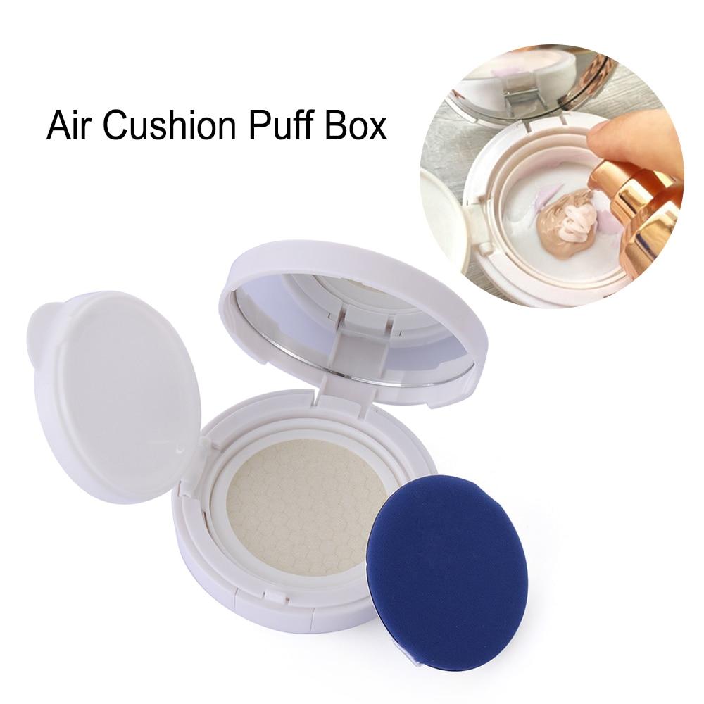 15ml DIY Air Cushion Sponge Powder Puff Empty Box Foundation Refillable BB Cream Container Makeup Case Travel Kit