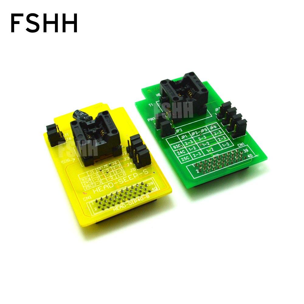 Адаптер программатора для HI-LO GANG-08, SOP8 SOIC8 SO8 SO8/IC SOCKET, с разъемами, с разъемом