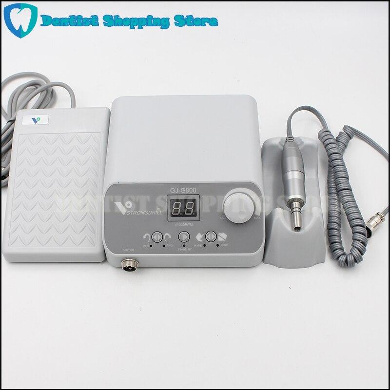 Micromotor Dental de alta calidad, 50.000 RPM, sin escobillas, sin carbón, Unidad de pulido para pedicura de uñas con pieza de mano de laboratorio tipo E