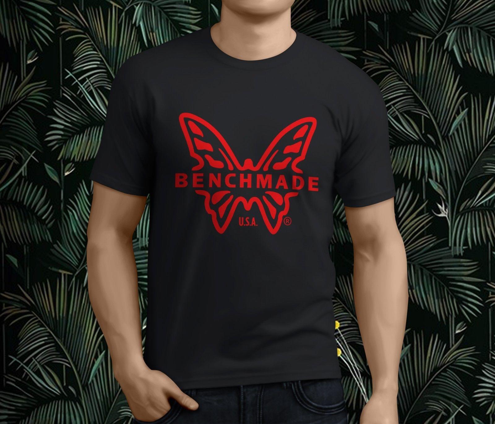 Nueva Popular camiseta negra para hombre con cuchillo plegable griptiliano, camiseta S-3XL para hombre, camisetas 100% de algodón con estampado