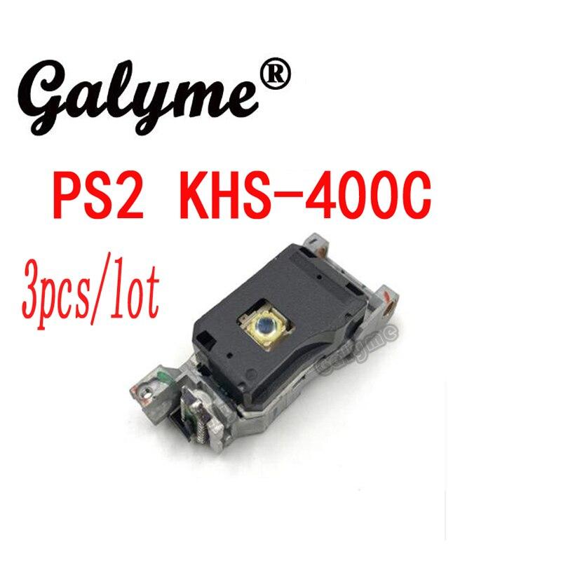 Lote de 3 unidades, nueva oferta, repuesto Original de lentes de cabeza láser KHS-400C para PS2 KHS 400C, pieza de repuesto de mano para consola de juegos