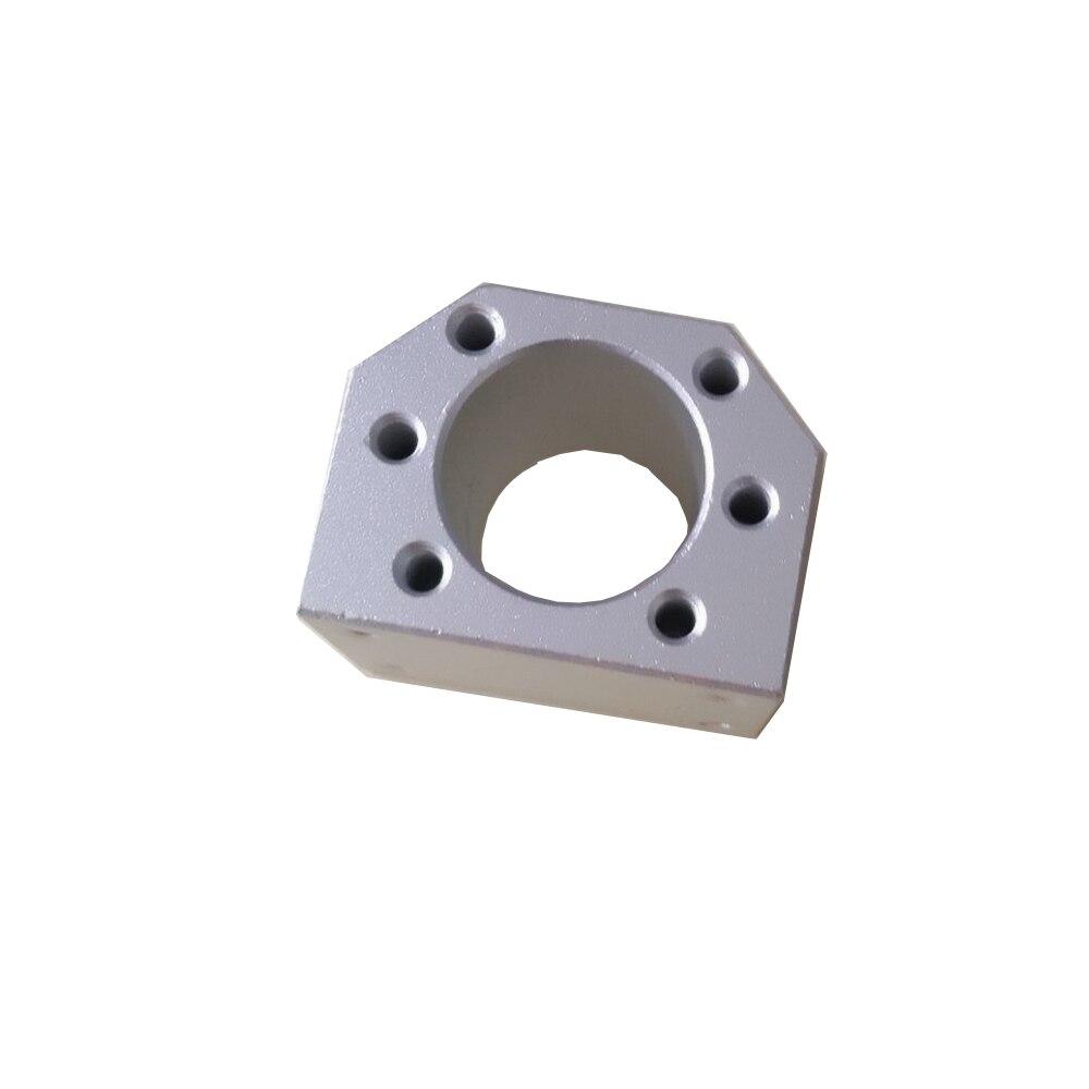 Шаровая гайка Корпус кронштейн держатель для SFU1604 SFU1605 SFU1610 алюминиевый сплав Материал 1605 шариковый винт