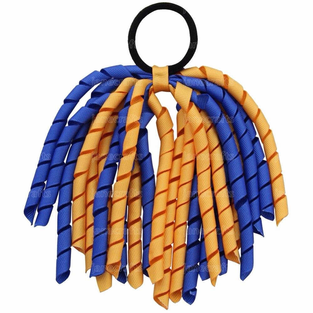 كوركر-فيونكة شعر مرنة 6 بوصات ، 12 قطعة ، حامل ذيل للفتيات ، ربطات شعر المدرسة ، إكسسوارات شعر ، دروبشيبينغ