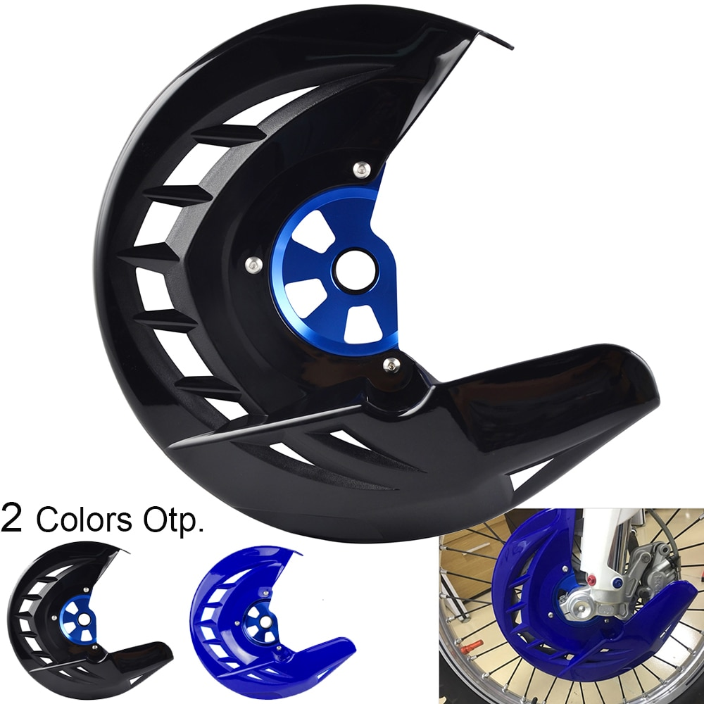 motorcycle clutch cover protector cover fit for yz 450f yz450f 2014 2016 wr 450f wr450f 2016 Front Brake Disc Guard For Yamaha YZ250F YZ450F 2014-2021 YZ250FX YZ450FX 2016-2021 YZ 250F 450F 250FX 450FX YZ 250 450 F FX
