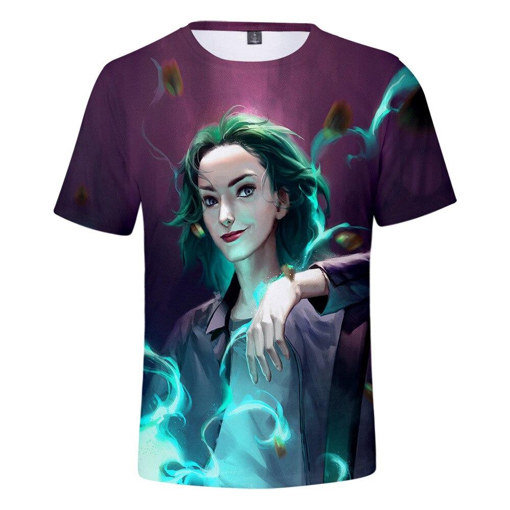 Nueva moda para parejas de hombres y mujeres Unisex Polaris camisetas divertidas con estampado 3D sin capucha Casual Hip Hop camiseta para niños Top 2XS-4XL
