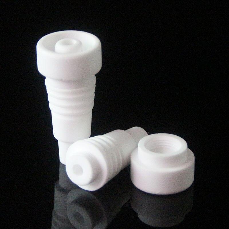 Clavo de cerámica puede abrir 10mm14mm jiont clavo de cerámica masculino para fumar pipa Hookahs tuberías de agua vs cuarzo clavo de titanio
