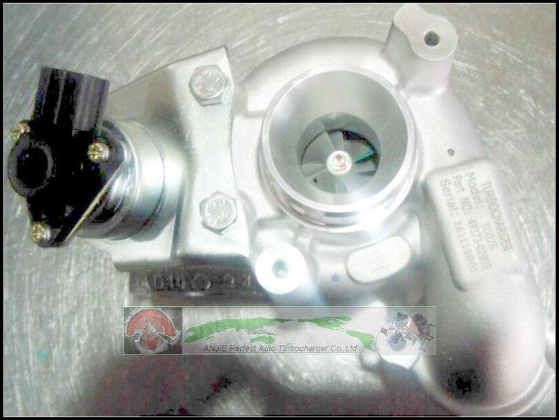 Turbo TD025 49373-02013 49373 0375Q9 pour Citroen C3 Berlingo II   Pour Peugeot 02003 2008 208 pour Ford Fiesta DV6ETED4 1.6L HDI