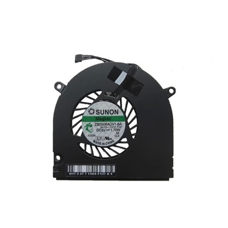 Free Shipping!! 1PC Original New Laptop Fan For MACBOOK PRO A1278 990 A1342 MC207 516