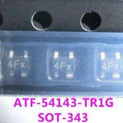 10 Pcs 4F 4FX ATF-54143-TR1G SOT343