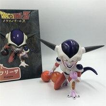 Dragon Ball Z Nette Frieza Schlechten Geschmack Form 2 Basketball Ver. PVC Action Figure DBZ Goku Frieza Modell Spielzeug 10cm