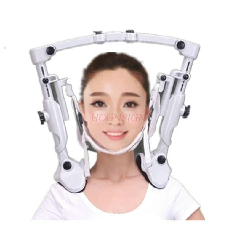 Massaggio Cervicale Dispositivo di Trazione di Spalla Massaggio A Casa Fisioterapia Portatile Staffa Fissa Drago Voce Strumento Collo
