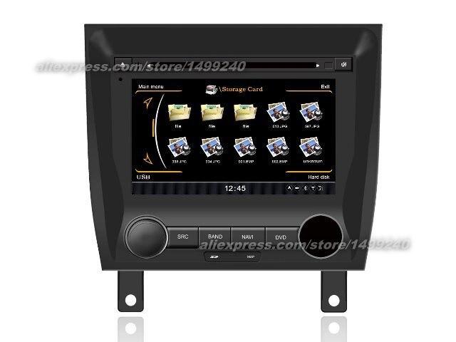 Para Peugeot 405 2009 ~ 2012-navegación GPS del coche reproductor de DVD Radio Estéreo TV BT iPod 3G WIFI sistema Multimedia