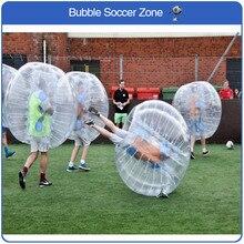 Livraison gratuite ballon de football gonflable bulle ballon pare-chocs gonflable Zorb ballon jeux amusants ballon rebondissant adulte ballon de football