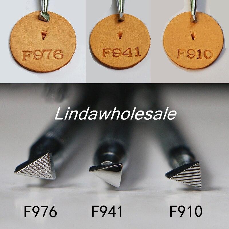 Ferramentas de escultura de couro impressão F976/F941/F910, ferramentas de couro