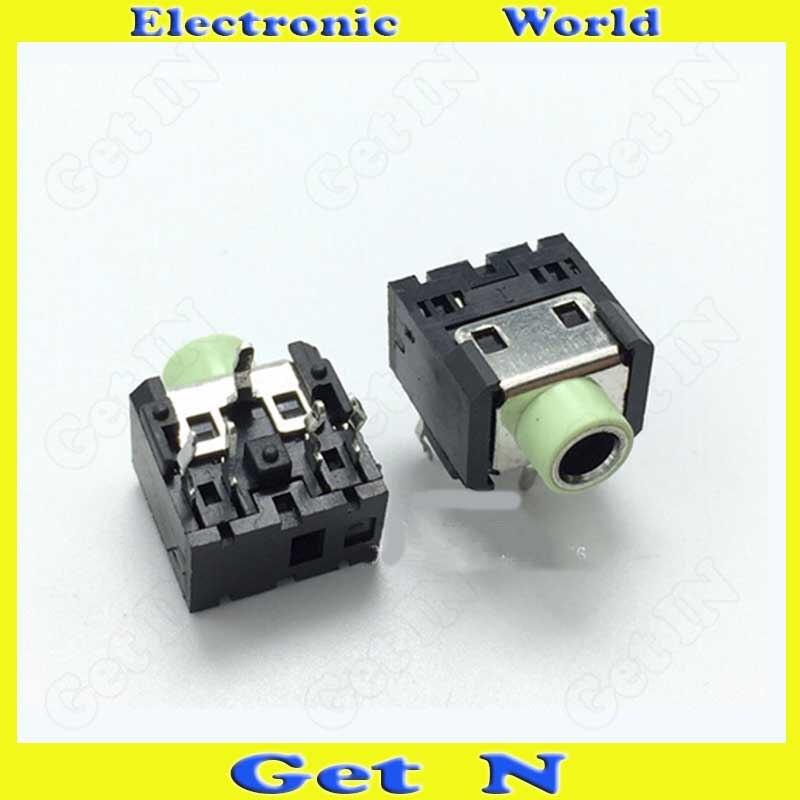 500 шт., PJ-306 разъемы для наушников, 3,5 разъема для наушников, 5 контактов с колонной DIP