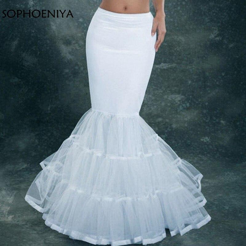 ¡Novedad! enaguas de sirena, accesorios de boda económicos, rockabilly vestido, enaguas para vestidos de mujer, crinolina