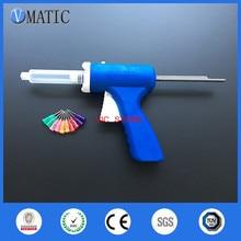 Free Shipping 10ml/cc Manual Syringe Gun Single Liquid Glue Caulking Gun 1Pc With Dispensing Needles