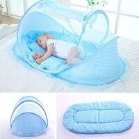 Портативная детская кровать с москитной сеткой