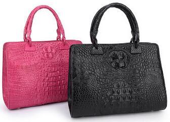 حقيبة يد من جلد التمساح الأصلي للنساء ، حقيبة يد من جلد التمساح الأصلي ، حقيبة يد نسائية ، 100%