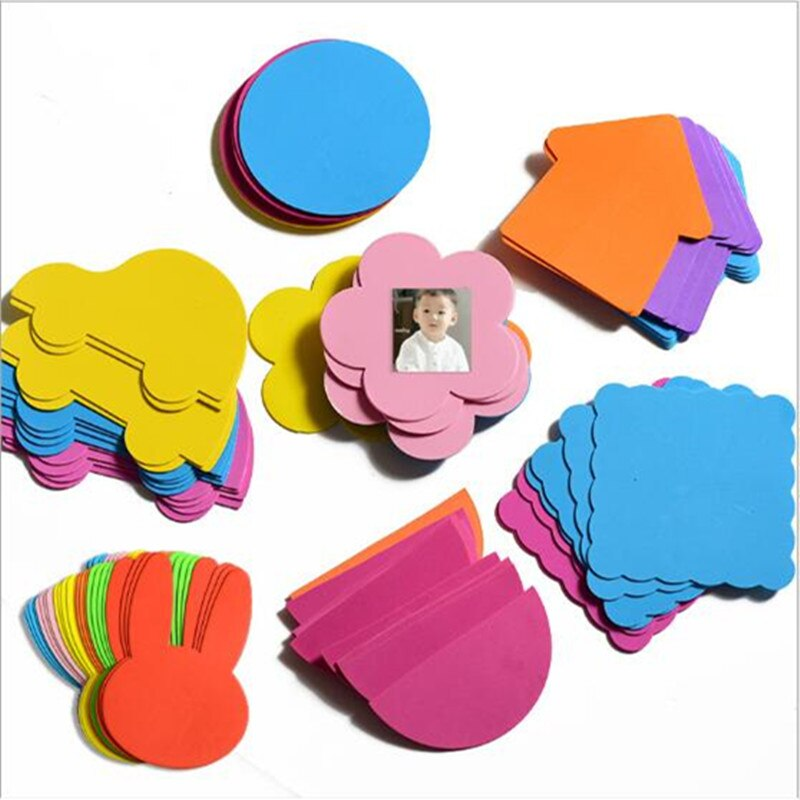 Adhesivos de espuma 3D para pared de animales de dibujos animados hechos a mano para niños, rompecabezas para habitaciones de niños Juguetes educativos de Aprendizaje Temprano manualidades decorativas