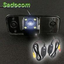 Voiture CCD Vision nocturne caméra de recul étanche HD Parking pour Hyundai Azera SantaFe Santa Fe IX45 2009 2010 2011 2012