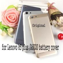 Für Lenovo Vibe K5/K5 Plus Zurück batterie fall Offizielle Original Telefon gehäuse Für Lenovo A6020 Batterie Abdeckung Ersatz teile