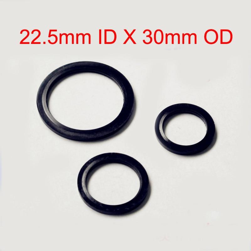 50 PCS Rubber Metal Rubber Bonded oil plug gasket Seal Ring Fit M22