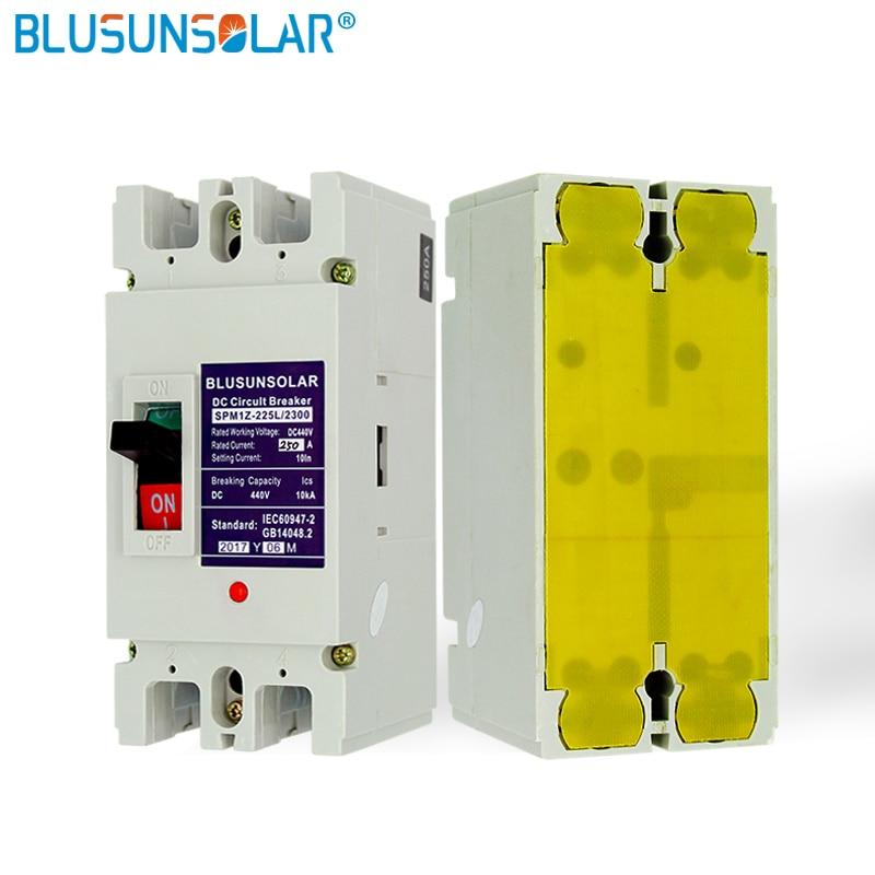 1PC 2P 200A DC440V SOLARB Solar energy photovoltaic PV Molded Case DC Breaker