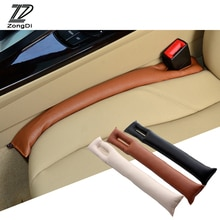ZD 1Pc Car seat gap filler pad cover Leather seat slit plug For BMW e46 e39 Audi a4 b6 a3 VW polo Lada granta vesta Accessories