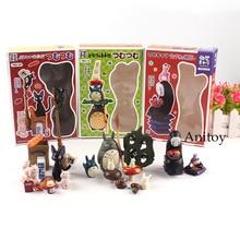 Dessin animé Hayao Miyazaki mon voisin Totoro sest enfui le Service de livraison de Kiki figurine daction jouet pour enfants 1-15cm