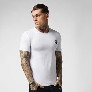 PPFRIEND new fashion mens t shirt embroidery summer o-neck casual 100% cotton fashion men t-shirt swear breathe