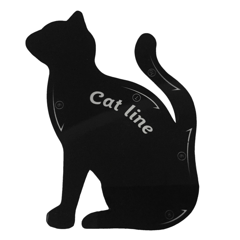 Delineador de ojos 2 uds., línea de gato Pro, utensilio de maquillaje para ojos, delineador de ojos, plantilla, modelo modelador