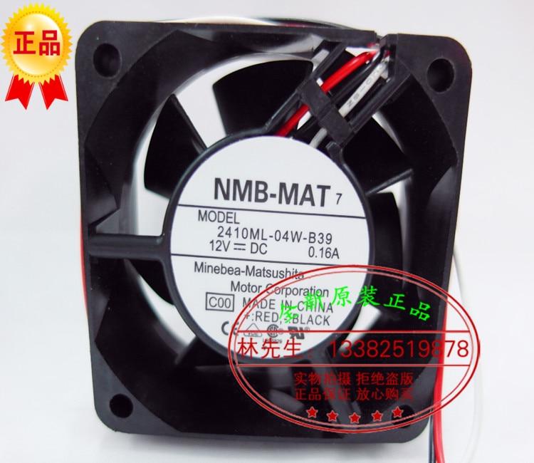 NMB-MAT جديد NMB 2410ML-04W-B39 6025 12 فولت 0.16A لمروحة تبريد سيسكو 2600
