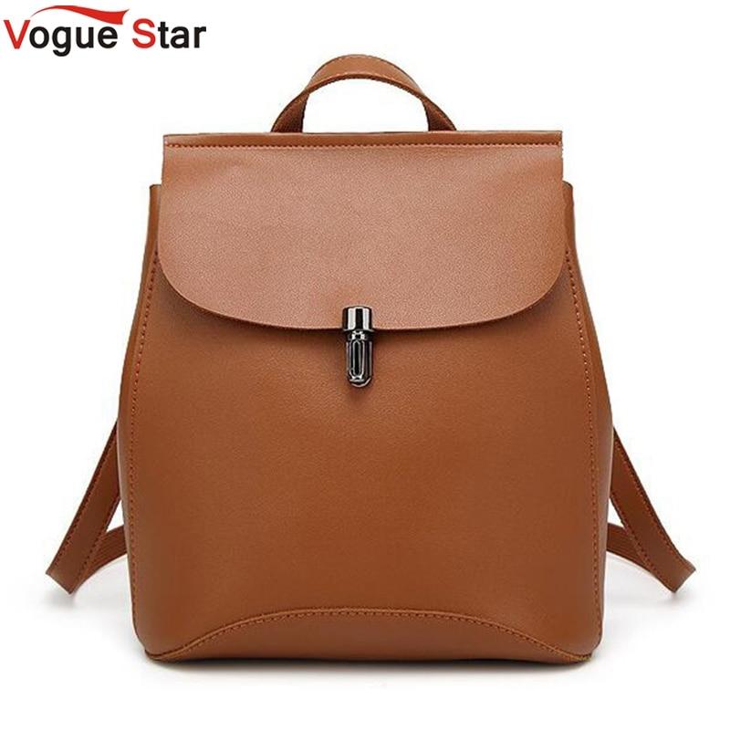Women Backpacks 2020 Hot Sale Fashion Causal bags High Quality  female shoulder bag PU Leather Backpacks For Girls LA459
