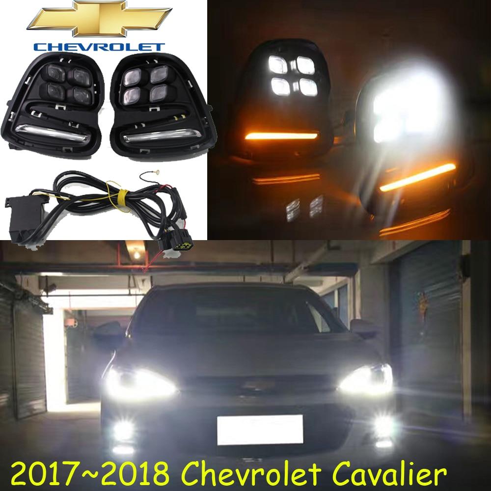 Cavalier daytime light,2017 2018 year!Free ship!LED,Cavalier fog light,2ps/set;Cruz;Cavalier daytime light Cavalier