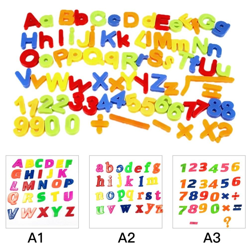 26 pcs Refrigerator fridge magnet  Puzzle English Educational Toy Alphabet A - Z Letters Educational Foam Mat  WB277 P30