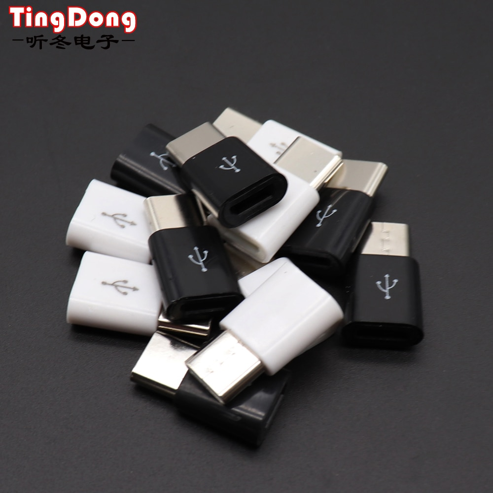 USB tipo C OTG adaptador Micro USB a tipo C cargador USB-C para Samsung Galaxy Note 8 9 S8 S9 Plus A3 A5 A7 2017 cargador tipo C
