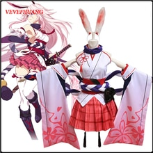 VEVEFHUANG Anime Honkai Impact 3 Yae Sakura uniforme Cosplay Costume pour femmes Honkai Impact 3 Cosplay Costume Halloween Christm