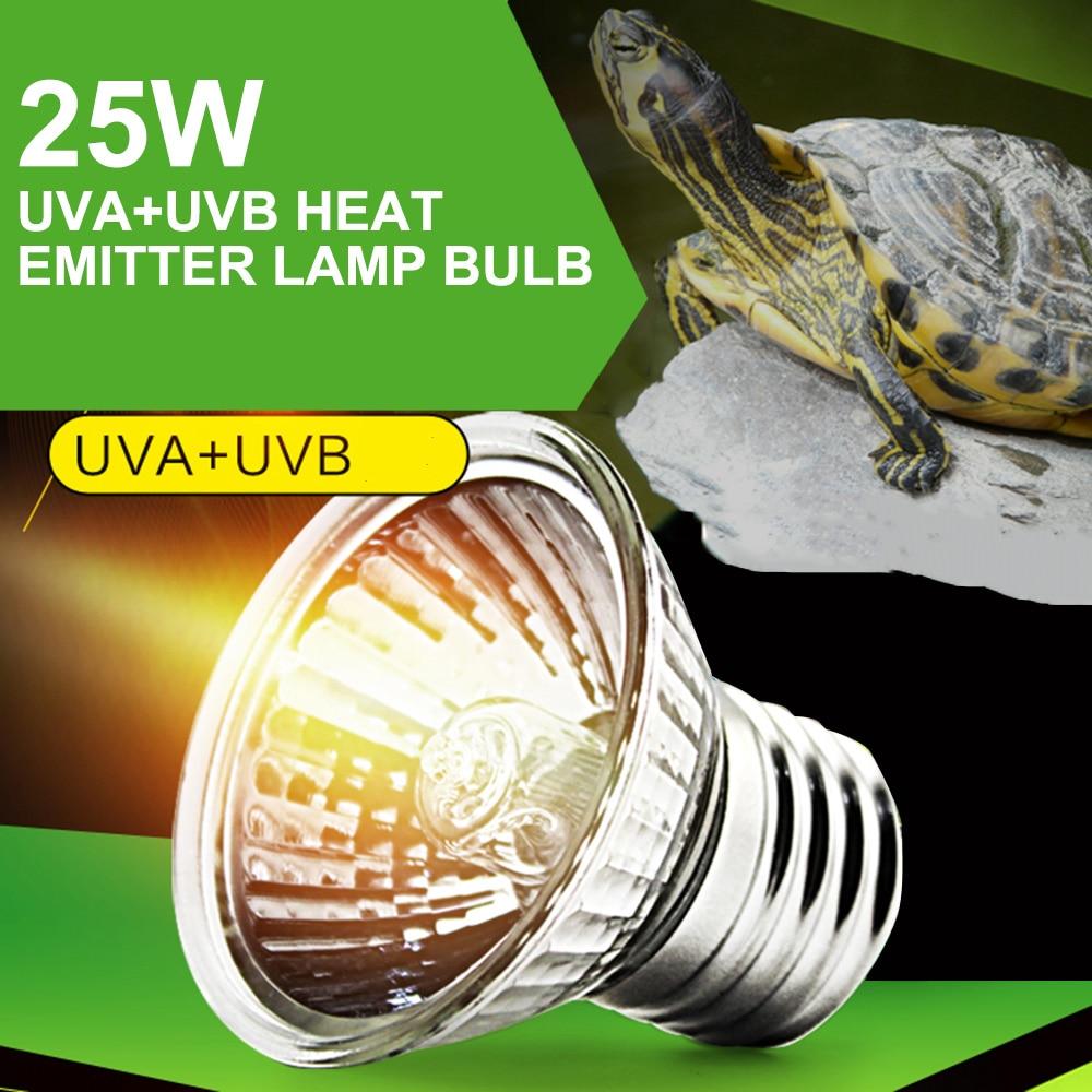 Mabor UVA+UVB Light Heater E27 Pet Heating lamp Heat Light Bulb Pet Brooder Chickens Reptile Lamp 25W 220-230V Light Bulb